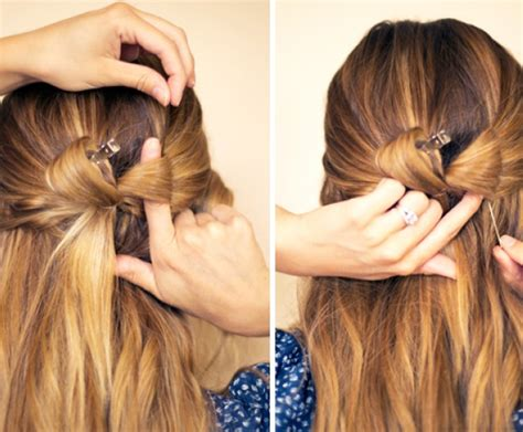 5 minute hairstyles for medium hair 5 minute styles for medium to long hair she said