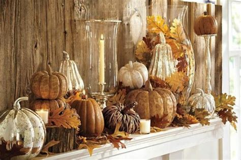 Thanksgiving Decorations Pictures by 40 Thanksgiving Mantelpiece D 233 Cor Ideas Digsdigs