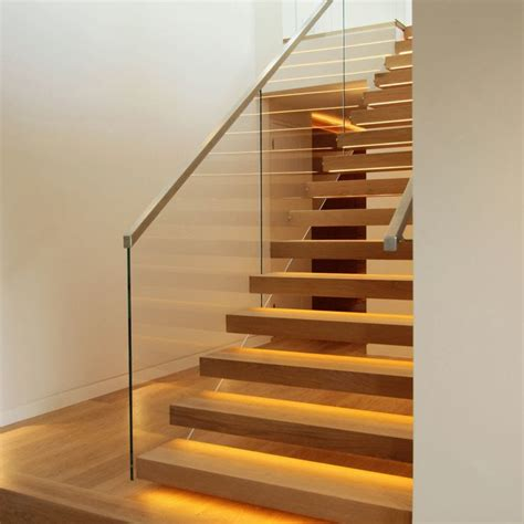 Light Stand Excell Floor Solid floating staircase in central archetech