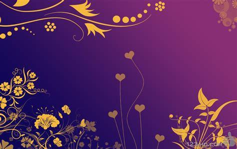 purple  gold wallpaper wallpapersafari