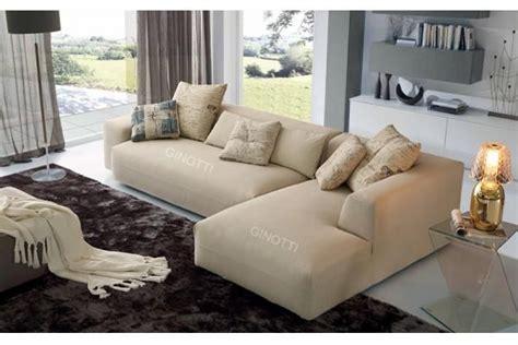 sofas modernos italianos los sof 225 s modernos de la tela color beige sof 225