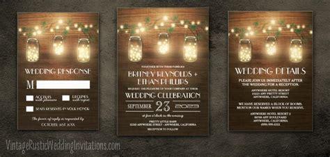 Jar Wedding Invitations