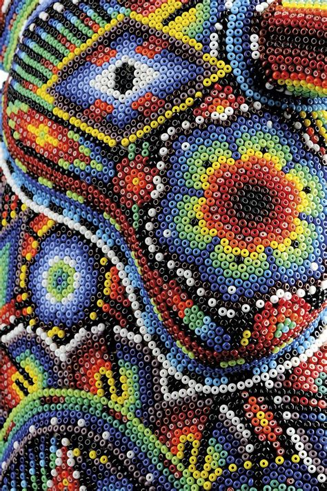 mexican beading 263 best images about huichol mexican bead yarn