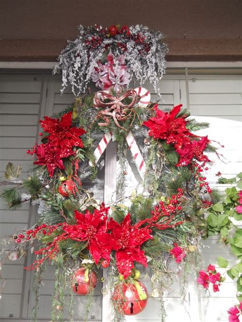 outdoor christmas wreath christmas pinterest