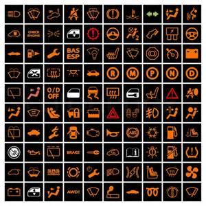 bilens instrumentbr 230 t ikoner stock vektor colourbox