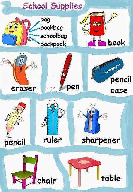 imagenes en ingles de utiles escolares 218 tiles escolares en ingl 233 s imagui utiles escolares