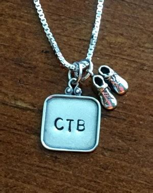 new mother charm necklace new charm necklace baby shoe k s impressions