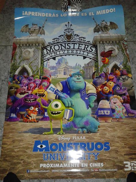 monstruos university primeros lectores p 243 sters 14 monstruos university blu ray