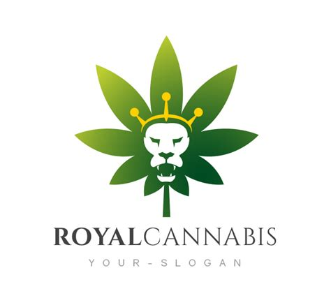 Business Card Template Free For Word Marijuana by Royal Cannabis Logo Business Card Template The Design