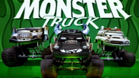 disney monster truck videos cars monster truck mayhem disney pixar movie game