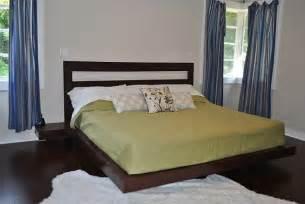 Diy Floating Platform Bed Plans Easy To Build Diy Platform Bed Designs