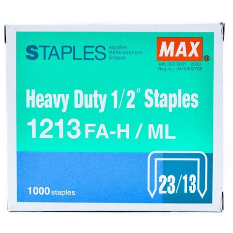 Isi Staples Max 1213 supplier isi stapler