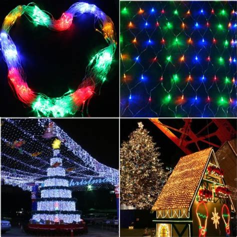 image multi color 300 led net mesh rgb linkable fairy