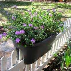 planters for fencing and railing window boxes
