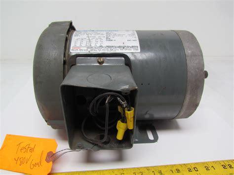 marathon electric g581 1 2 hp motor 3ph multivolt 1725rpm