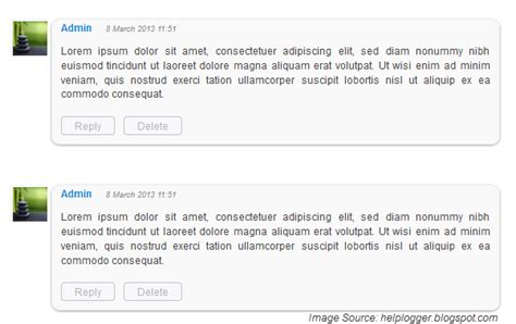 comments html template how to customize comments by adding a background