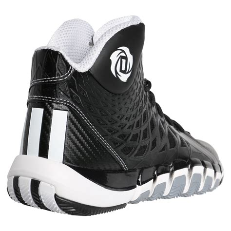 adidas stupidly light basketball shoes adidas d 773 ii s shoes black white gray