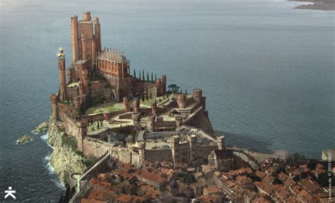 king s landing game of thrones stunning concept art for game of thrones season four