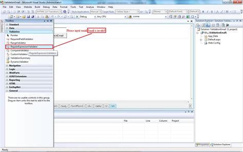 email regex validate email using regular expression in asp net 4