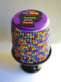 once upon a pedestal inside out movie cake disney pixar surprise inside
