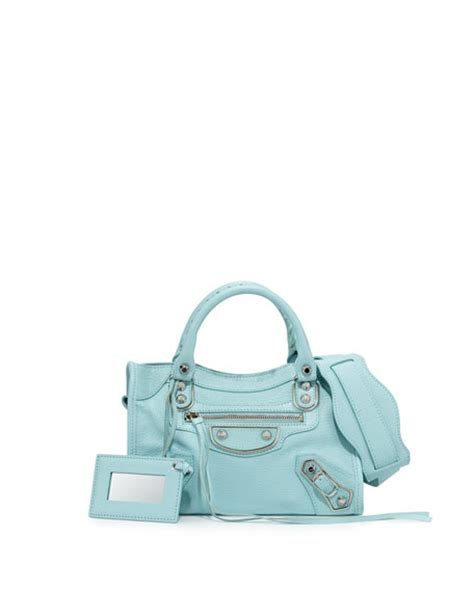 Balenciaga Mini City Edge Blue Nuit Not Payment balenciaga metallic edge city mini bag light blue