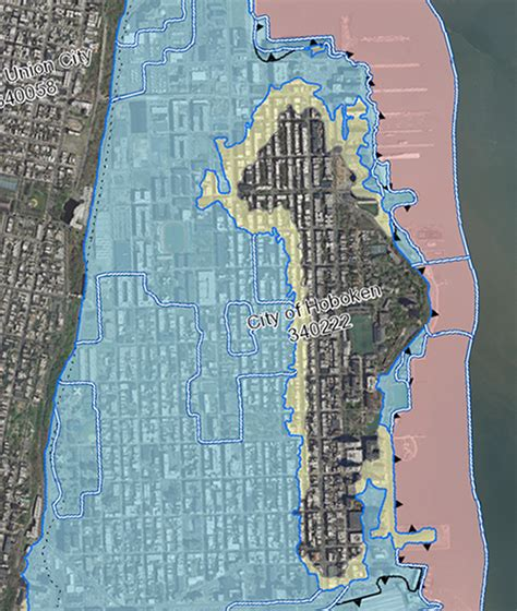 hoboken flood map new york city s flood hazard maps found to be inaccurate