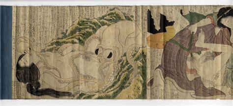 Octopus Home by Hokusai Kinoe No Komatsu Shunga Ukiyoe Gallery Shukado