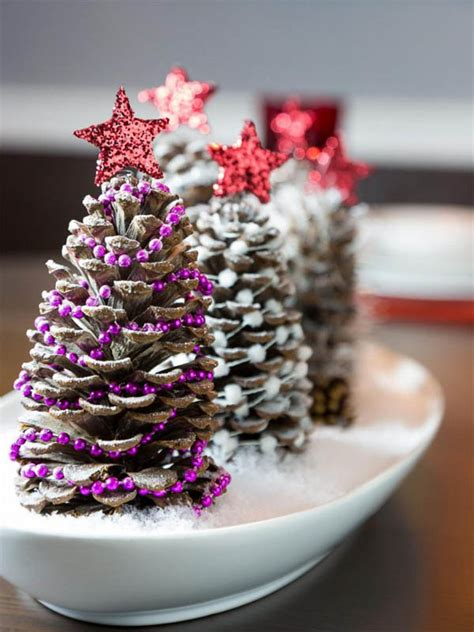 pine cone centerpieces amazing pine cone decorations you can make for
