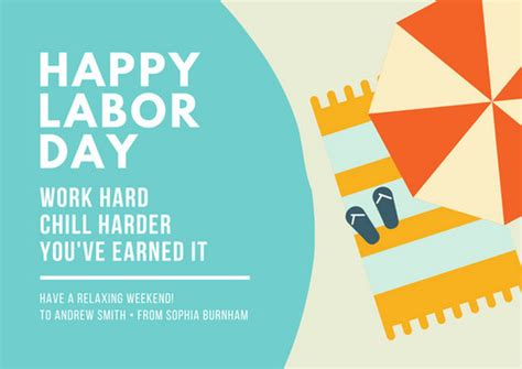 how to make a labour day card card templates canva