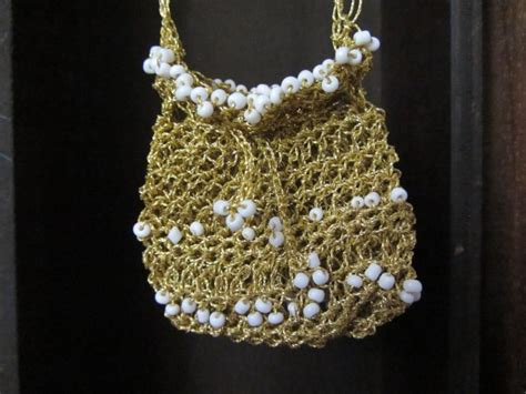 crochet jewelry bag pattern crochet pouch necklace pattern squareone for