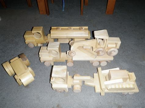 wood project ideas wooden toy truck plans