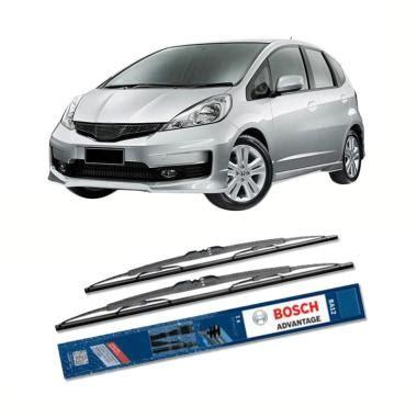 Lu Depan Mobil Jazz jual bosch advantage wiper kaca depan mobil for honda jazz 26 dan 14 inch harga