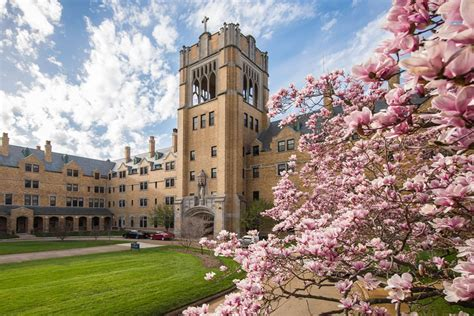 Of Notre Dame Mba Schedule by Top 20 Colleges Near Chicago College Plan