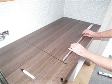 corian schneiden k 252 chenarbeitsplatte zuschneiden und einbauen die