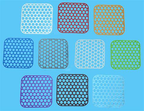 bathroom sink mats 2 square sink mats 29x29 cm 10 colours dish sink drainer