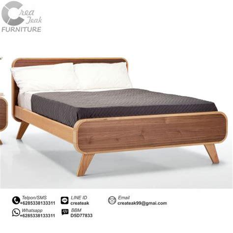 Ranjang Kasur Minimalis dipan minimalis mid century createak furniture