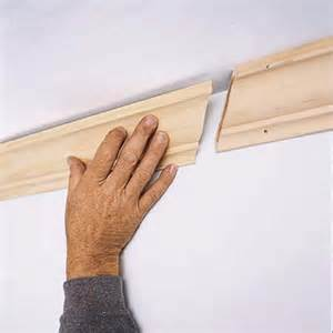 How To Cut Crown Molding For Kitchen Cabinets complete the scarf joint how to install crown molding