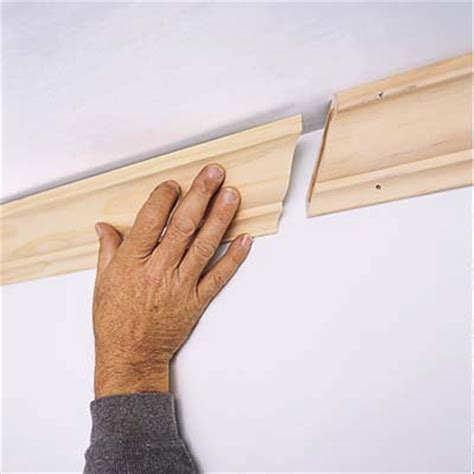 cutting crown molding for cabinets how to cut crown molding with a miter saw