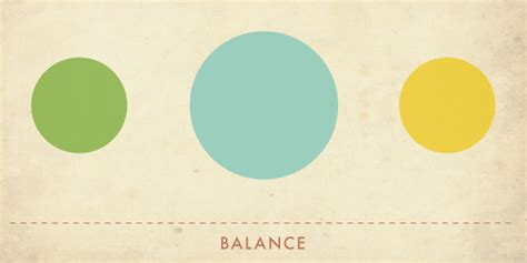 design elements balance all categories design is what concerns our everyday actions