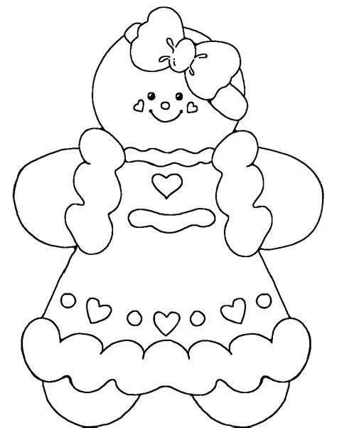 cute gingerbread coloring pages gingerbread man printable coloring gingerbread girl