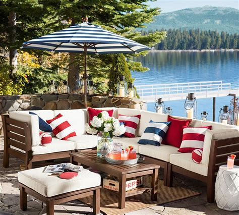 flag day decorating ideas from pottery barn