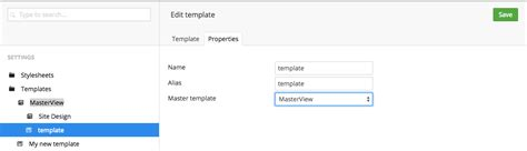 umbraco layout template templates design getting started documentation our