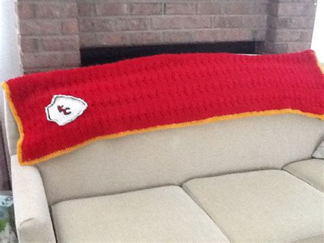 crochet pattern kansas city chiefs afghan 7 best kc chiefs images on pinterest crochet patterns