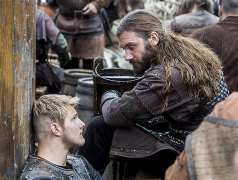 rollo vikings hair photos and clips for vikings season 2 episode 8 boneless