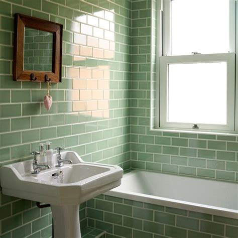 green tiled bathroom bathroom decorating ideas