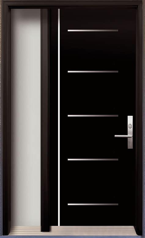 modern contemporary door modern wood door  stainless
