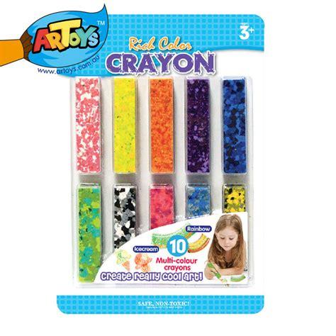 Kotak Crayon Set Isi 54 Pcs artoys 10pcs multi color crayon set rich color high quality 100 safe non toxic children s