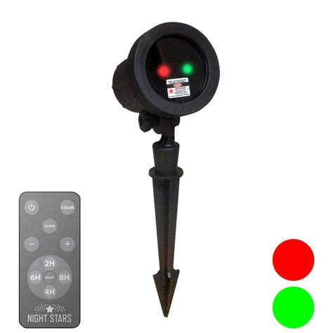 Red Green Laser Lights With Remote Night Stars Night Landscape Lighting Remote