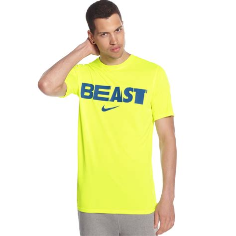 T Shirt Beast Yoseob nike football beast mode legend tshirt in yellow for