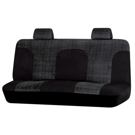 walmart bench seat auto expressions big truck bench seat cover black interior car accessories walmart com
